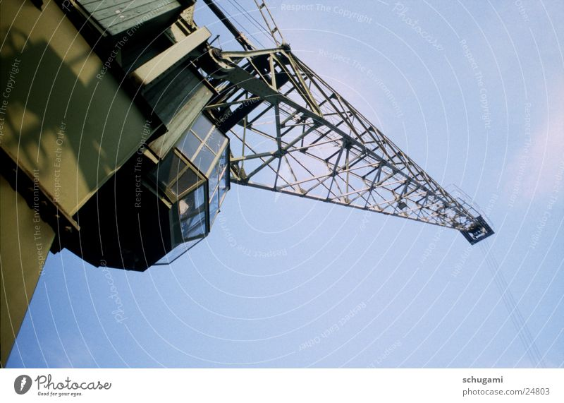 Alter Kran Industrie Industrielandschaft