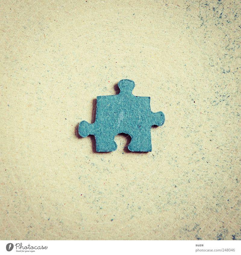 Drilling blau Spielen klein Freizeit & Hobby Suche einfach einzeln Spielzeug Mitte Teile u. Stücke Karton Papier Puzzle Kinderspiel Rückseite