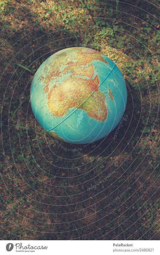 #A# earth day Kunst Erde Globus Planet Planetarium Halbkugel Kontinente global Globalisierung Globalisierungsgegner liegen Zukunft nachhaltig Mensch
