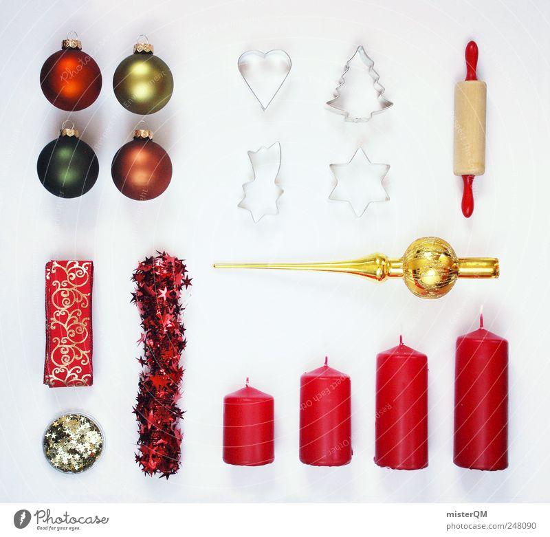 """""""900"""" First Aid Kit. Weihnachten & Advent rot Feste & Feiern Kunst gold Design kaufen ästhetisch Lifestyle Kerze Dekoration & Verzierung Konzentration Kreativität Postkarte Christbaumkugel"""