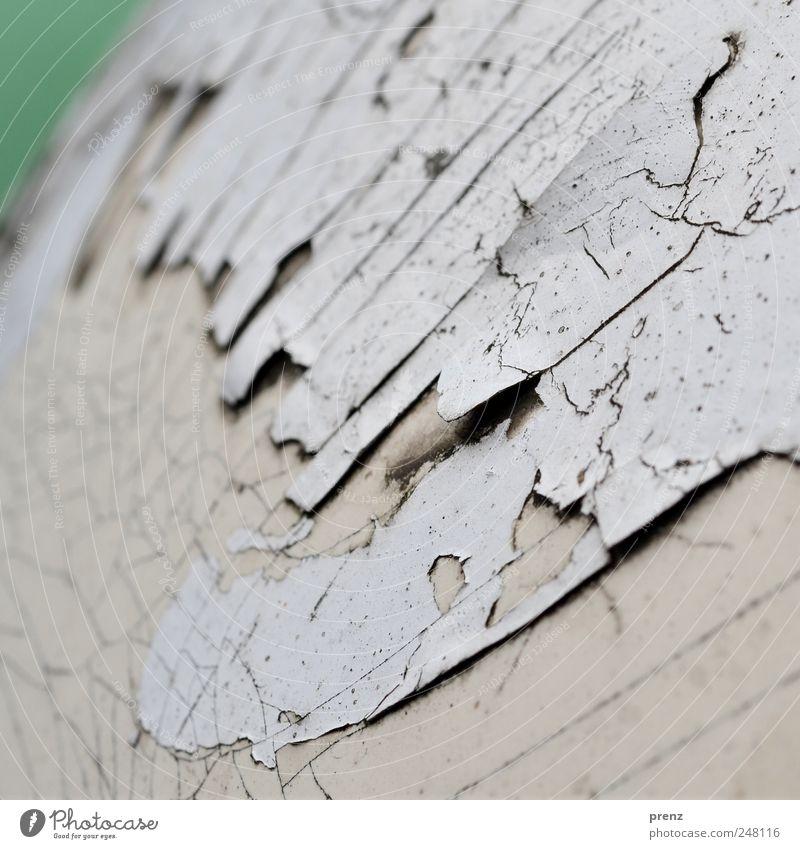 Farbstruktur alt weiß grün grau Farbstoff Linie Kunststoff Riss Anstrich porös