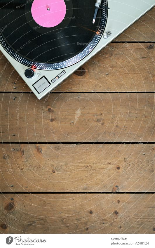 The Record-Player Spielen Holz Feste & Feiern Musik rosa Wohnung Tanzen Design retro Rock Diskjockey Schallplatte Musiker Tonabnehmer Lounge Nachtleben