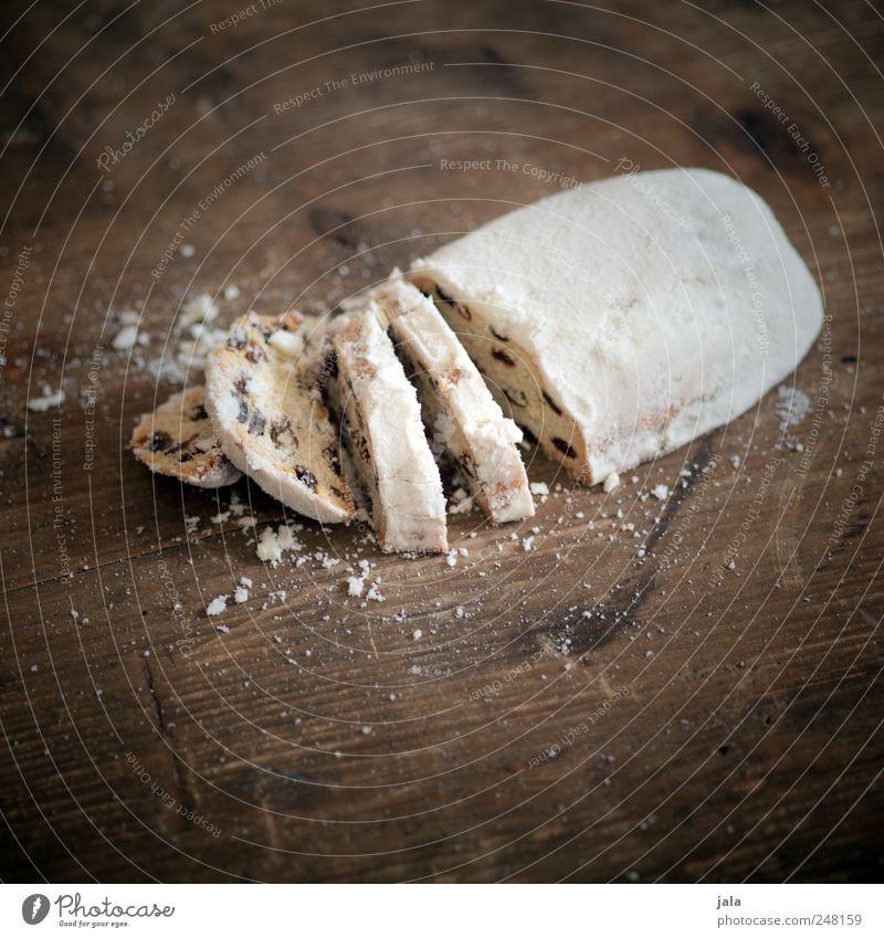 stollen Weihnachten & Advent weiß Ernährung Lebensmittel braun gold Kuchen lecker Süßwaren Kaffeetrinken Christstollen