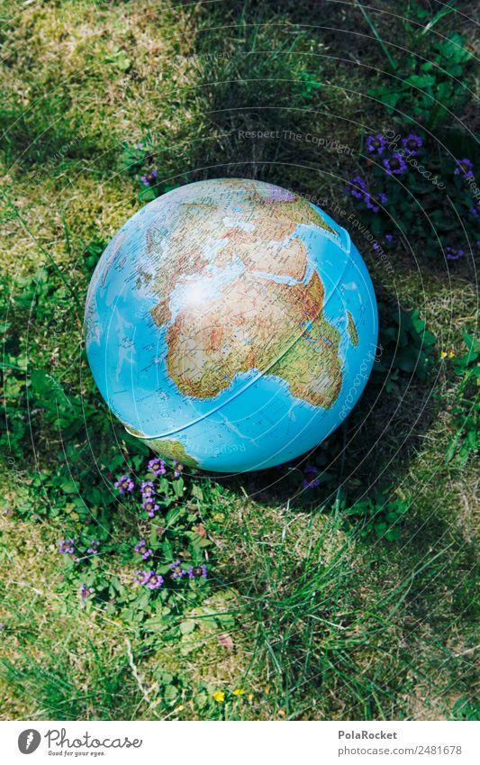 #A# Weltkugel Kunst Kunstwerk ästhetisch Erde Globus global Globalisierung Globalisierungsgegner Weltall Kontinente Schutz Umweltschutz Natur nachhaltig Ball