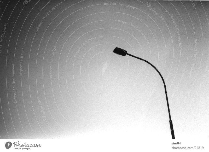 Lampe Laterne Elektrisches Gerät Technik & Technologie Schwarzweißfoto