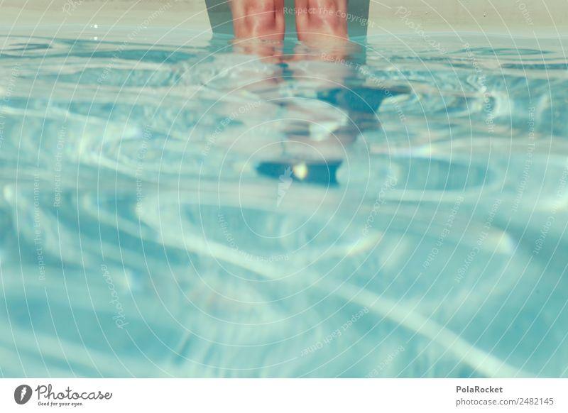 #A# Stille Wasser Freizeit & Hobby ästhetisch Schwimmbad Sommer Sommerurlaub sommerlich Erfrischung Wärme Beine Wasseroberfläche Erholung Wellness