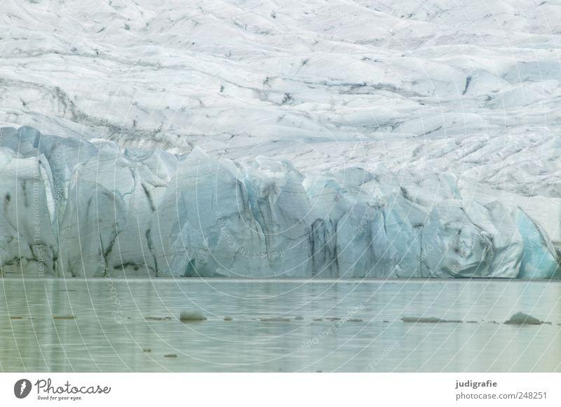 Island Umwelt Natur Landschaft Urelemente Wasser Eis Frost Gletscher Küste See fjallsarlon kalt natürlich blau Klima Gletscher Vatnajökull schmelzen Klimawandel