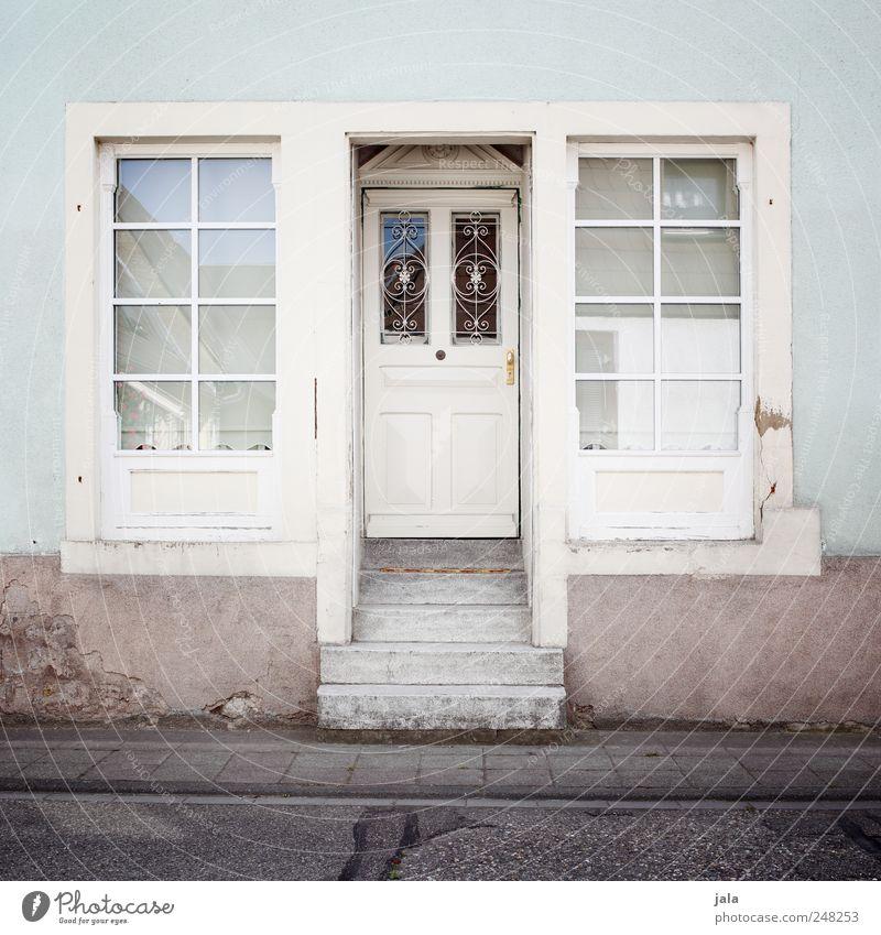 schmucke Haus Straße Fenster Wand Architektur Wege & Pfade Mauer Gebäude Tür Fassade Treppe Bauwerk