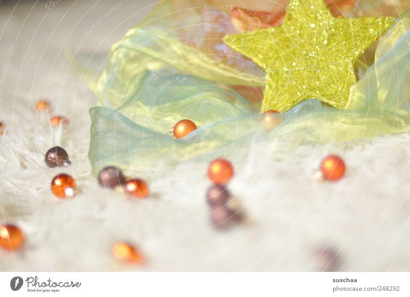 weihnachten (besser als aliens) .. elegant Feste & Feiern mehrfarbig Romantik Design Weihnachten & Advent Stoff Stern Weihnachtskugeln Weihnachtsdekoration