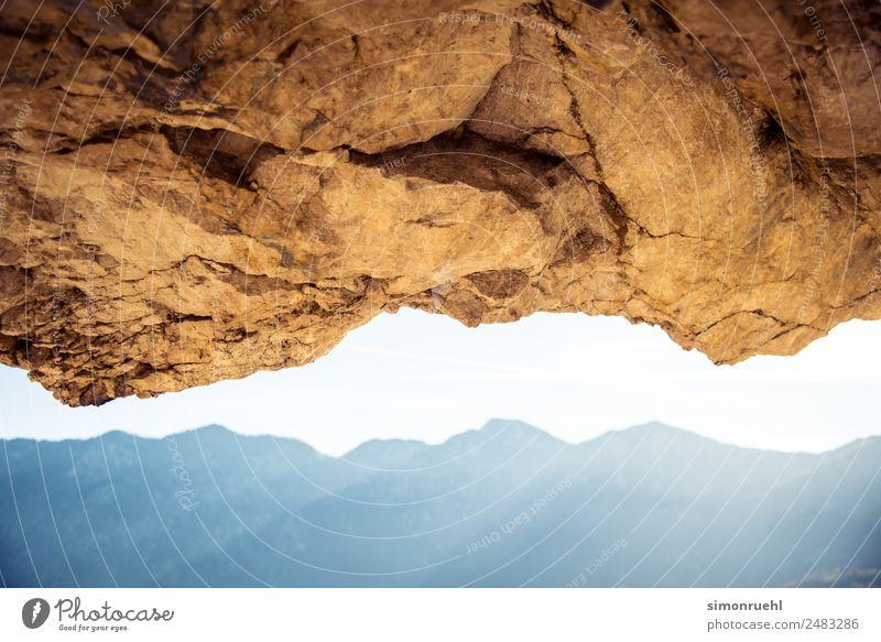 Upside up Landschaft Herbst Felsen Alpen Berge u. Gebirge Österreich entdecken wandern natürlich oben Stimmung Horizont Nostalgie Perspektive