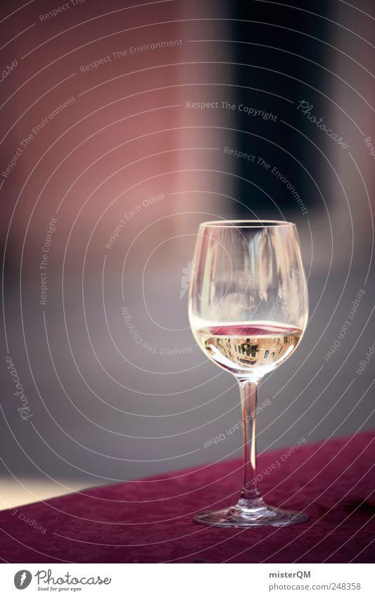 Kenner? Lifestyle elegant Stil ästhetisch Zufriedenheit Wein Weißwein Weissweinglas Weinprobe Italien Flair Glas Gastronomie edel Exklusivität Straßencafé