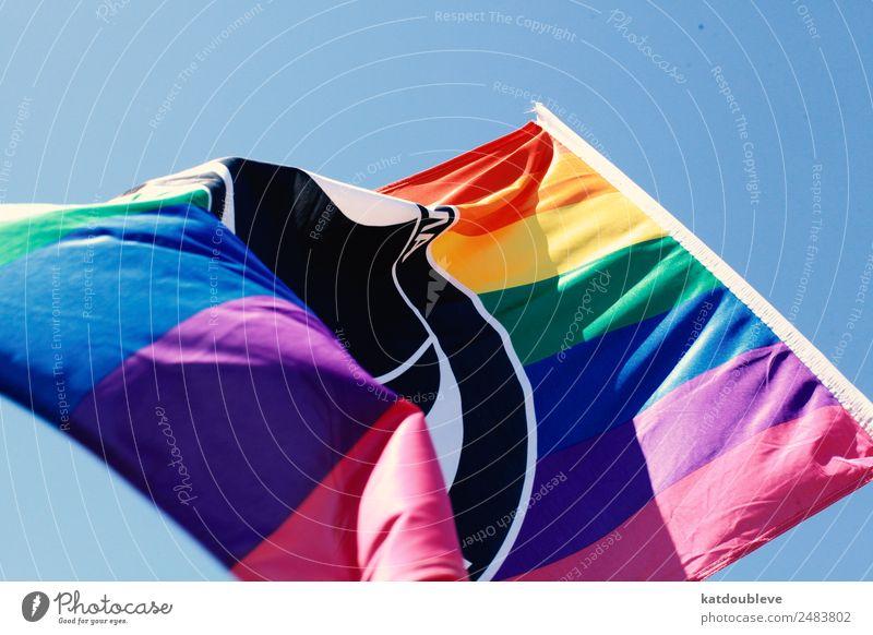flag Lifestyle Stil Zeichen mehrfarbig selbstbewußt Optimismus Willensstärke Mut loyal Toleranz Bewegung Bildung Frieden Gesellschaft (Soziologie) Kommunizieren