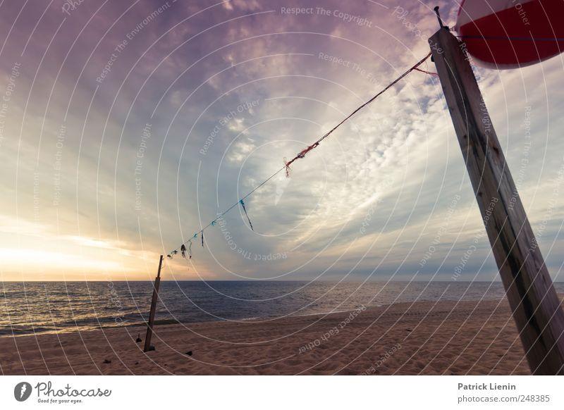 Ein guter Sommer schön harmonisch Wohlgefühl Zufriedenheit Erholung Freizeit & Hobby Sommerurlaub Strand Meer Umwelt Natur Landschaft Urelemente Erde Sand Feuer