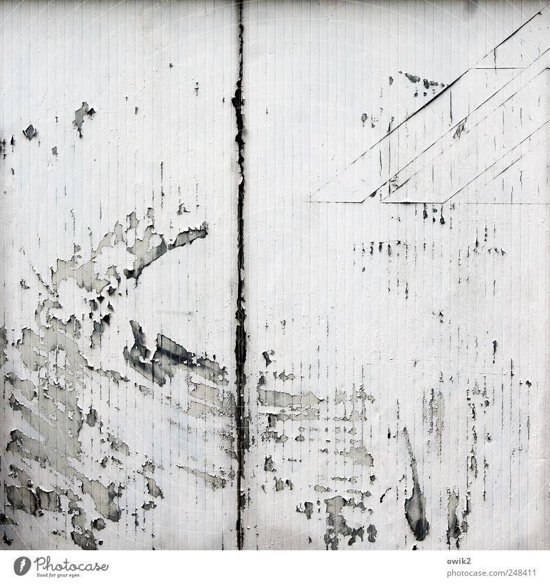 Rush Hour alt schwarz Farbe Wand grau Gebäude dreckig verrückt trist Bauwerk Spuren verfallen gruselig Wut trashig Stress