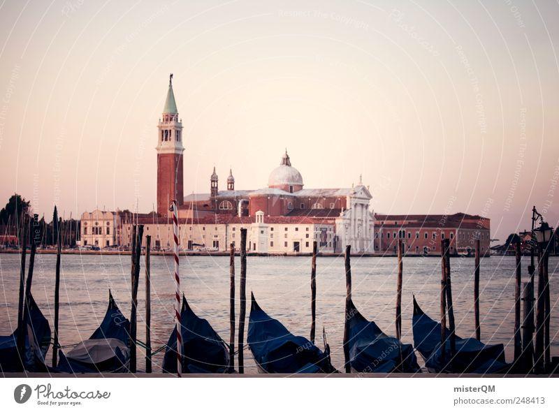 San Giorgio Maggiore. Kunst Kunstwerk ästhetisch Venedig Turm Sehenswürdigkeit Italien Ferien & Urlaub & Reisen Urlaubsstimmung Urlaubsfoto Urlaubsort Fernweh