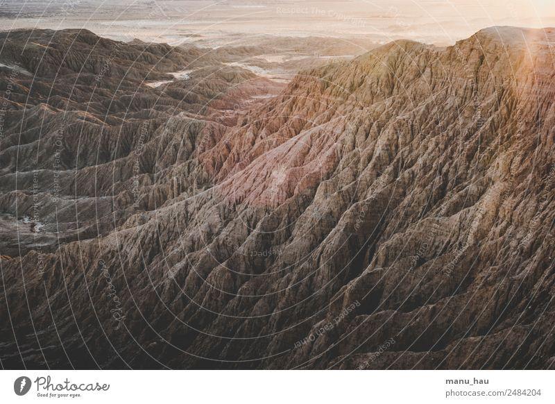 Canyon Klettern Bergsteigen wandern Umwelt Natur Landschaft Sonnenaufgang Sonnenuntergang Sommer Schönes Wetter Felsen Berge u. Gebirge Schlucht Wüste