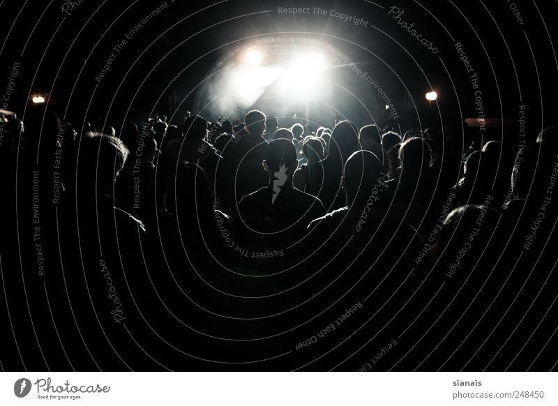 1984 Nachtleben Entertainment Veranstaltung Musik Diskjockey ausgehen Feste & Feiern Tanzen Mensch Jugendliche Menschenmenge Musik hören Konzert Open Air Bühne