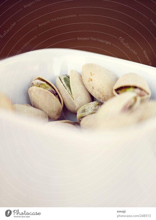 Snack I weiß lecker Festessen Schalen & Schüsseln Nuss Snack Fingerfood Mahlzeit Pistazie Schalenfrucht