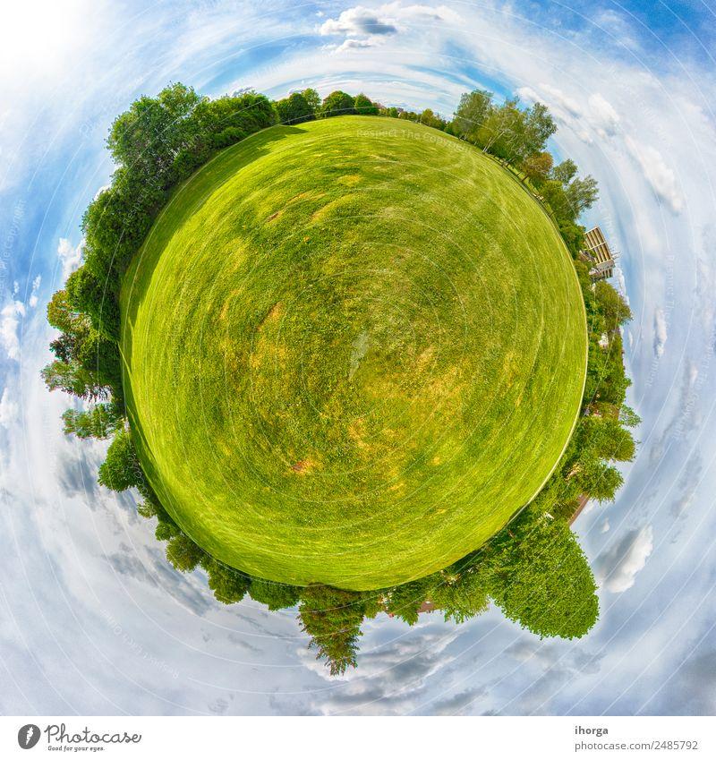 Himmel Natur Ferien & Urlaub & Reisen Sommer blau schön grün Landschaft Sonne Baum Wolken Wald Umwelt natürlich Wiese Gras