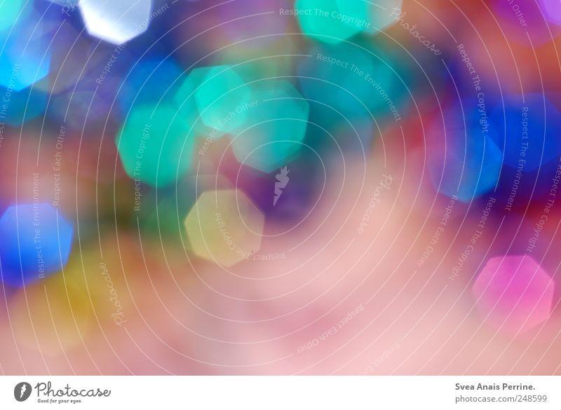 glitzer.glitzer.glitzer. Kunststoff außergewöhnlich rosa Freude Fröhlichkeit Zufriedenheit Lebensfreude mehrfarbig Unschärfe Lichterscheinung Lichtspiel