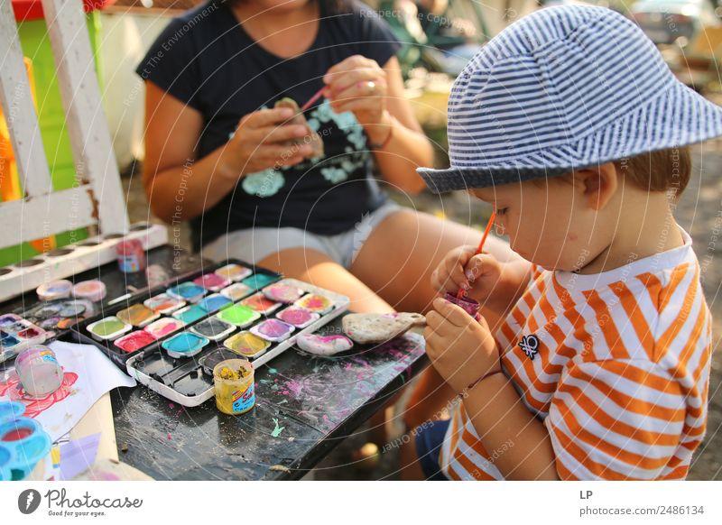 im Fluss Lifestyle ruhig Meditation Freizeit & Hobby Spielen Kinderspiel Häusliches Leben Kindererziehung Bildung Erwachsenenbildung Kindergarten lernen