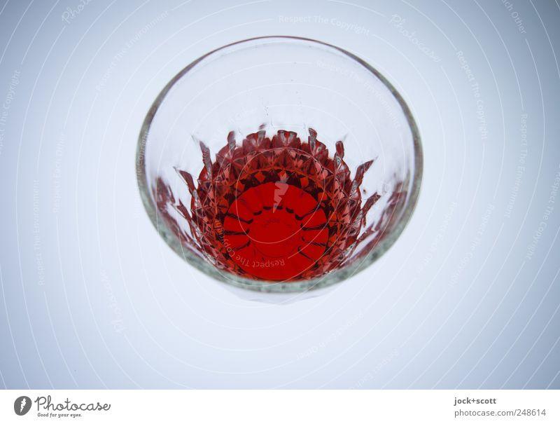 wasche sdarowje Spirituosen Glas Design Kreis Flüssigkeit rot Alkoholsucht Inspiration Kreativität geschliffen Bleikristall Russisch Leuchtkasten Muster