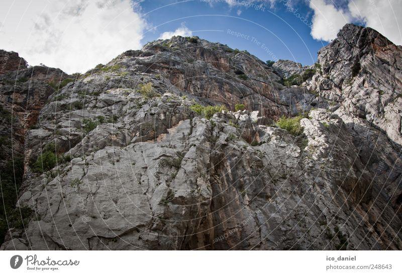 Nationalpark in Kroatien Natur blau Sommer Ferien & Urlaub & Reisen ruhig Freiheit Umwelt Berge u. Gebirge Landschaft grau braun Freizeit & Hobby Felsen wandern