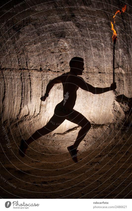 Mensch Mann Sommer Erwachsene Lifestyle Sport Spielen Park Aktion Fitness Energie Fotografie horizontal Großstadt Läufer Halt