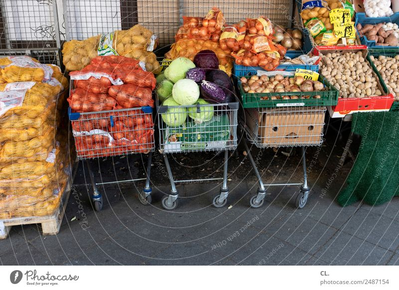 gemüseladen, berlin-kreuzberg Lebensmittel Gemüse Zwiebel Kartoffeln Ernährung Bioprodukte Vegetarische Ernährung Landwirtschaft Forstwirtschaft Handel Berlin