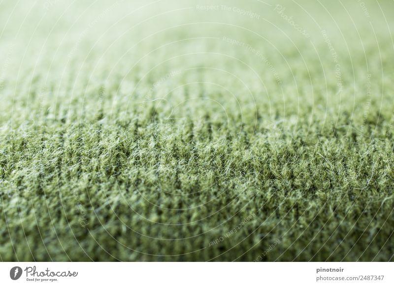 gestrickte moosgrüne Wolle Stil Handarbeit stricken Mode Bekleidung Pullover Stoff Schal kuschlig schön weich Warmherzigkeit horizontal Material Hintergrundbild