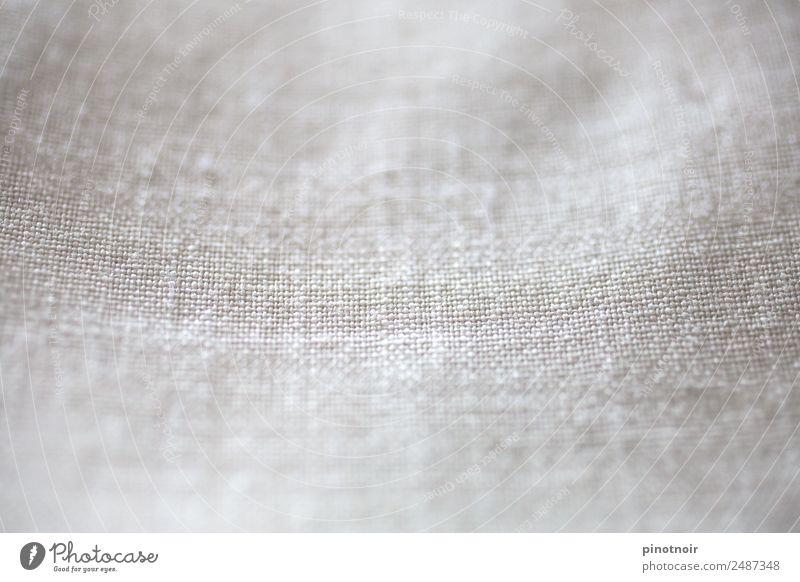 weißes Leinen elegant Stil Mode Bekleidung Stoff einfach nah nachhaltig weich grau horizontal Material Hintergrundbild Leinentuch Textilien Strukturen & Formen