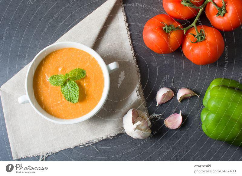 Kürbissuppe und Zutaten Lebensmittel Gemüse Ernährung Essen Mittagessen Bioprodukte Vegetarische Ernährung Schalen & Schüsseln Erntedankfest frisch Gesundheit