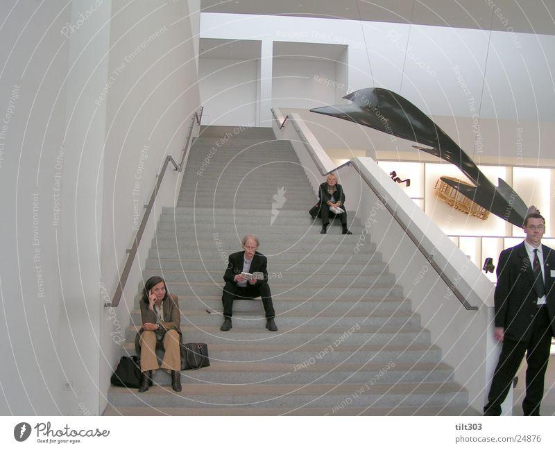 pinakothek Mensch Treppe Pinakothek