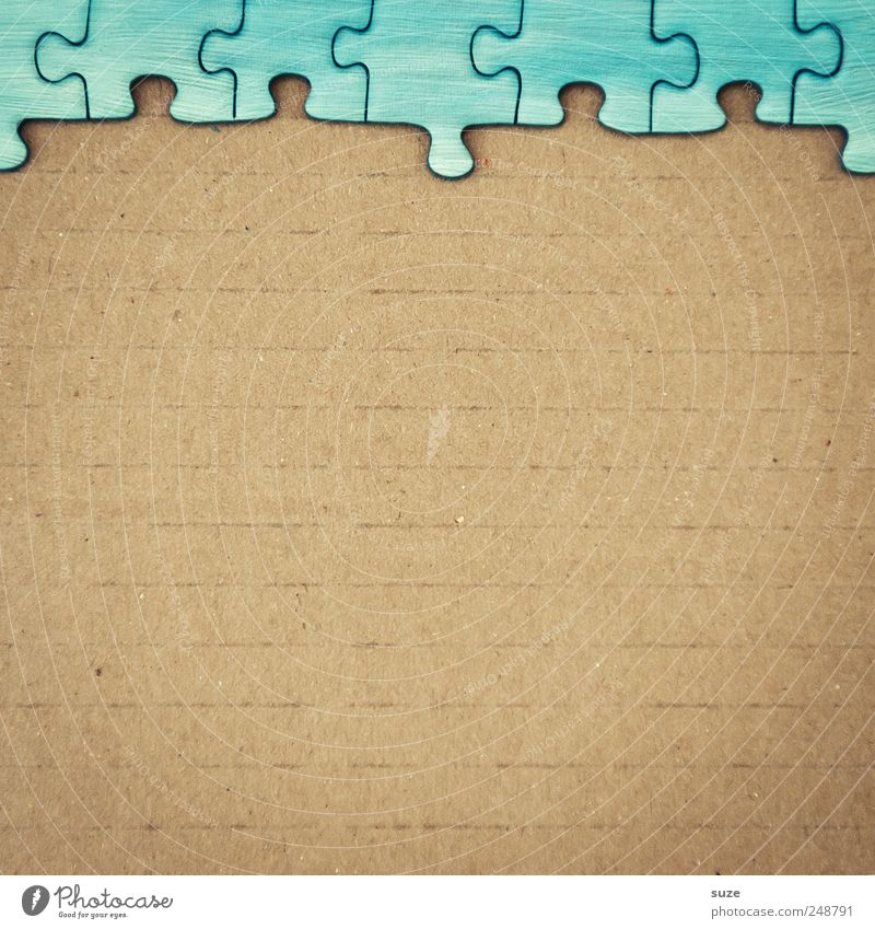 Randstreifen Himmel blau Spielen klein Freizeit & Hobby Ordnung Ecke Suche einfach Kreativität Spielzeug Papier Teile u. Stücke Karton Puzzle Kinderspiel