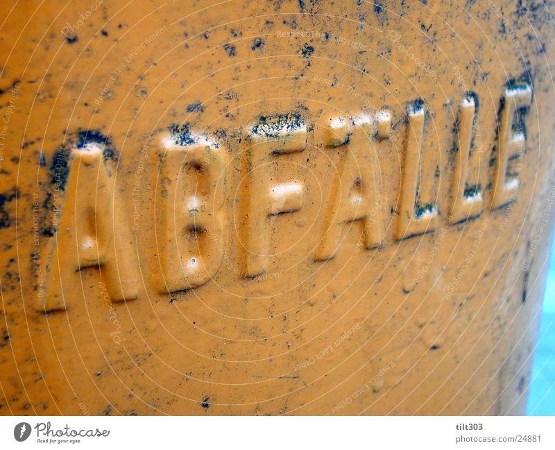 ab fall Dinge grap box