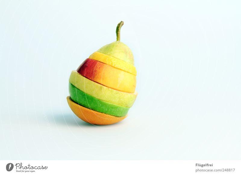 Vitaminbombe grün gelb Stil Gesundheit Lebensmittel Frucht Orange ästhetisch Ernährung genießen Apfel Appetit & Hunger lecker Diät Vitamin Zitrone