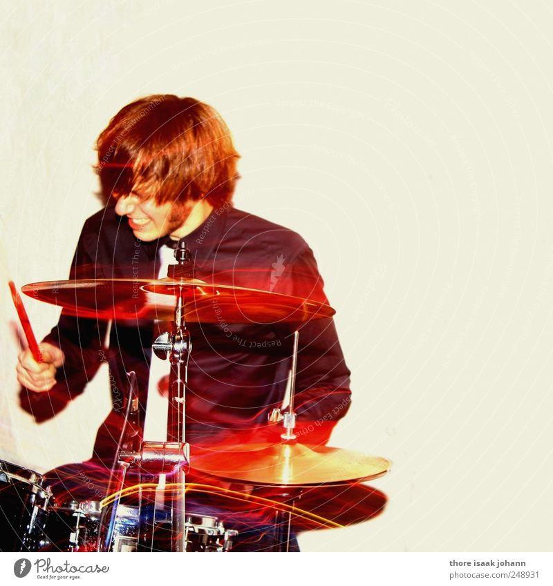 Oh, Johnny elegant Veranstaltung Musik Feste & Feiern Junger Mann Jugendliche 1 Mensch 18-30 Jahre Erwachsene Kunst Punk Rockabilly Konzert Musiker Schlagzeug