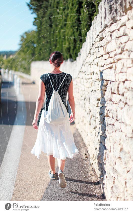#A# the french girl 1 Mensch ästhetisch Spaziergang Frau laufen Ferien & Urlaub & Reisen Urlaubsfoto Urlaubsstimmung Urlaubsort Urlaubsverkehr entdecken
