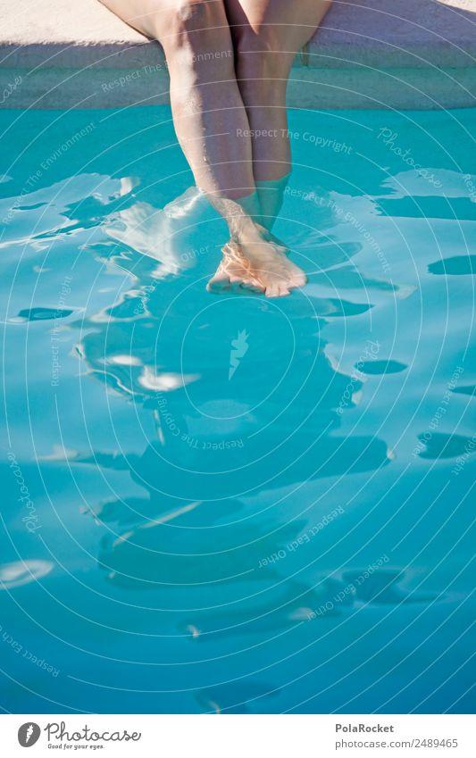 #A# kühle Füße 1 Mensch ästhetisch Ferien & Urlaub & Reisen Urlaubsfoto Urlaubsstimmung Urlaubsort Urlaubsflirt Kühlung Wärme Hitzeschock kalt Wasser