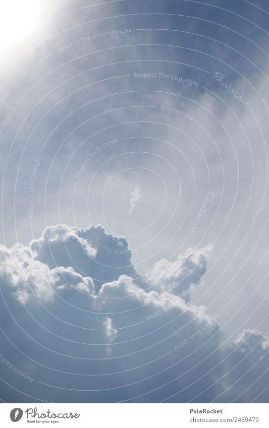#A# Light One Klima Klimawandel Wetter ästhetisch Wolken Wolkenhimmel Wolkendecke Wolkenbild Wolkenfeld Wolkenwand hoch himmlisch Himmel Himmel (Jenseits)