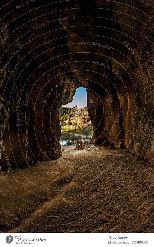 Naturpark des Cañón del Río Lobos Ferien & Urlaub & Reisen Schlucht Höhle Spanien Spanisch Tempelritter Soria Sehenswürdigkeiten Castilla-Leòn Farbfoto