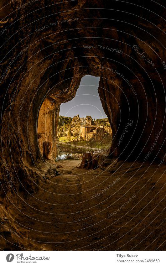Naturpark des Cañón del Río Lobos Ferien & Urlaub & Reisen Schlucht Höhle Spanien Tempelritter Sehenswürdigkeiten Romanik Soria Castilla-Leòn Isla de Lobos Berg