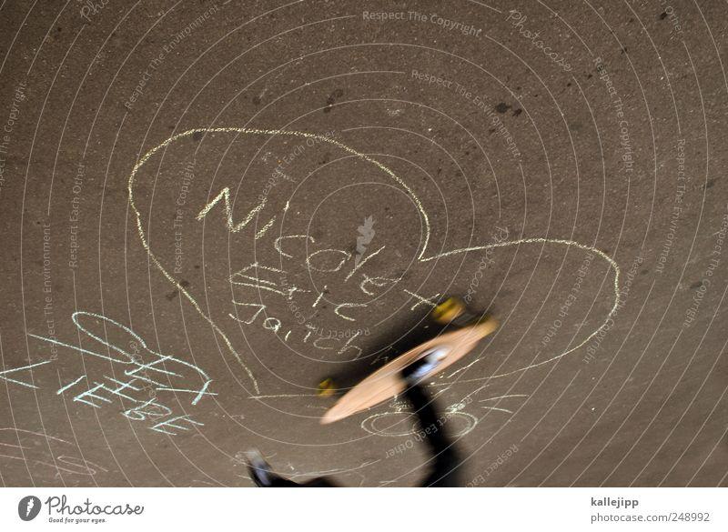 verliebt. verlobt. verheiratet. Mensch Freude Liebe Straße Graffiti Glück Freizeit & Hobby Herz Tierpaar Verkehr Geschwindigkeit Lifestyle Verkehrswege