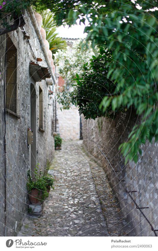 #A# Gassengrün Kunst ästhetisch Frankreich mediterran verstecken Kunstwerk verträumt Urlaubsfoto Provence