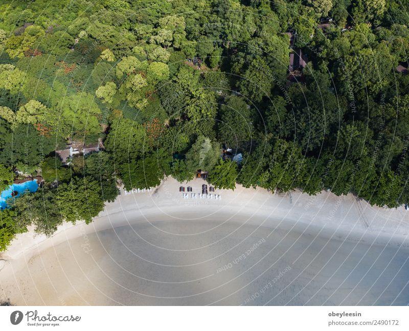 Natur Ferien & Urlaub & Reisen Sommer blau schön Landschaft Meer Strand natürlich Küste Stein Sand Felsen oben Park Aussicht