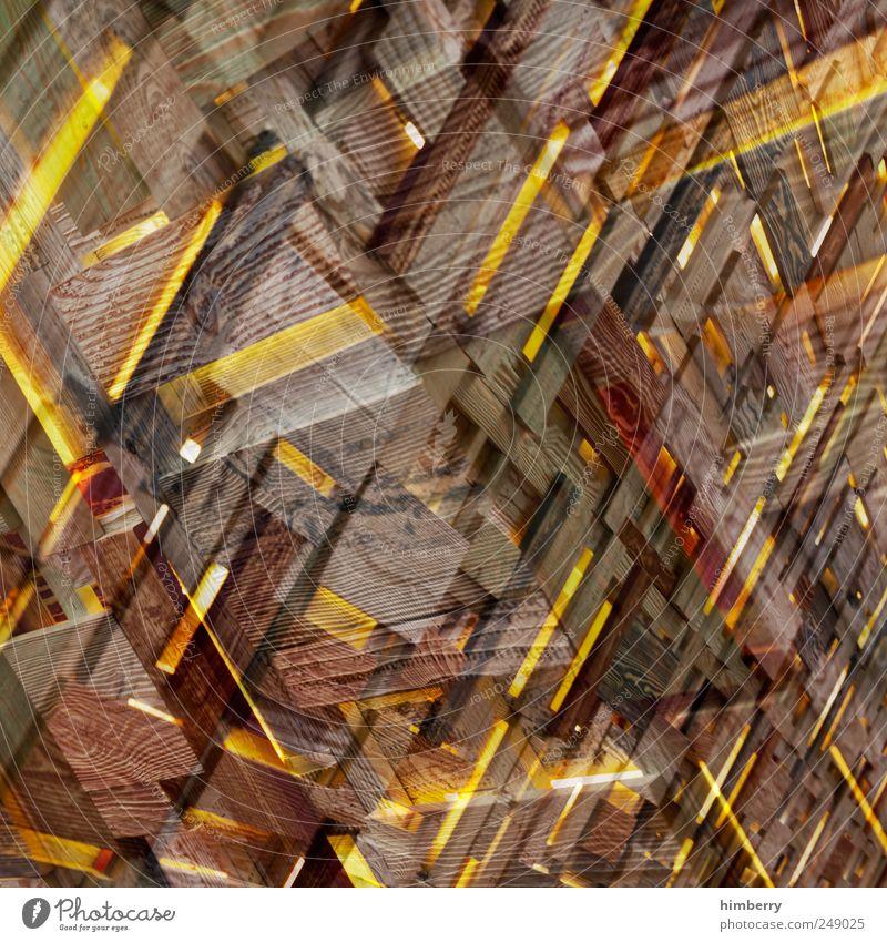 doppelter woodstock gelb Innenarchitektur Holz Stil Feste & Feiern Kunst Lifestyle Dekoration & Verzierung Veranstaltung Bar Restaurant bizarr Doppelbelichtung