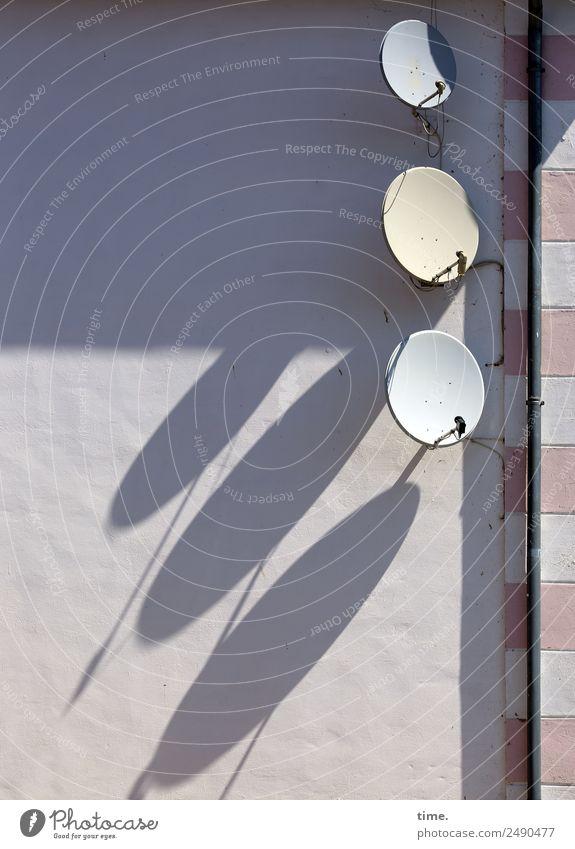 Geschwindigkeit | Buschtrommeln, modern style Stadt Leben Wand Wege & Pfade Mauer Stein Design Kommunizieren Technik & Technologie Ordnung Zukunft Information