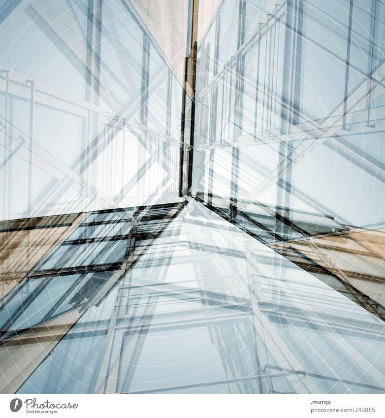 Construct Arbeit & Erwerbstätigkeit Fenster Stil Architektur Gebäude Fassade Design verrückt planen modern Wachstum Perspektive Zukunft Technik & Technologie