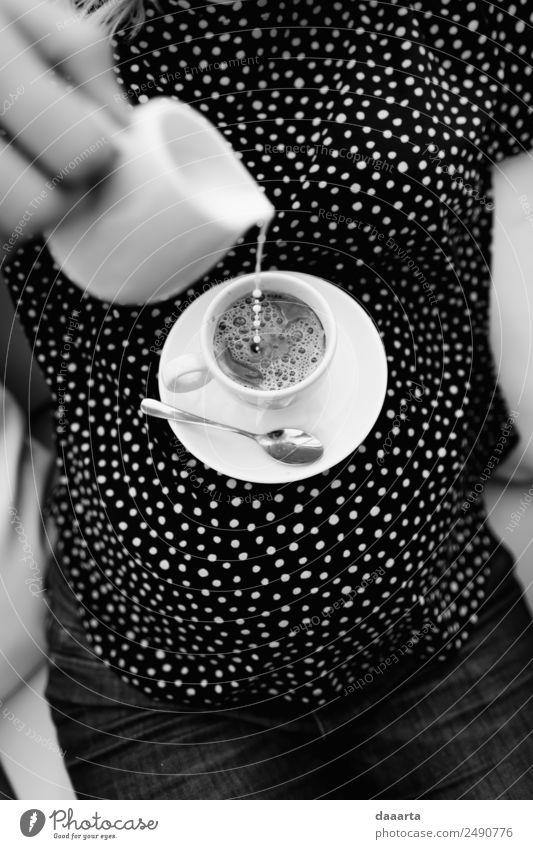 neue Tabelle Getränk trinken Heißgetränk Kaffee Latte Macchiato Milch Becher Stil Freude Leben harmonisch Freizeit & Hobby Abenteuer Freiheit Feste & Feiern