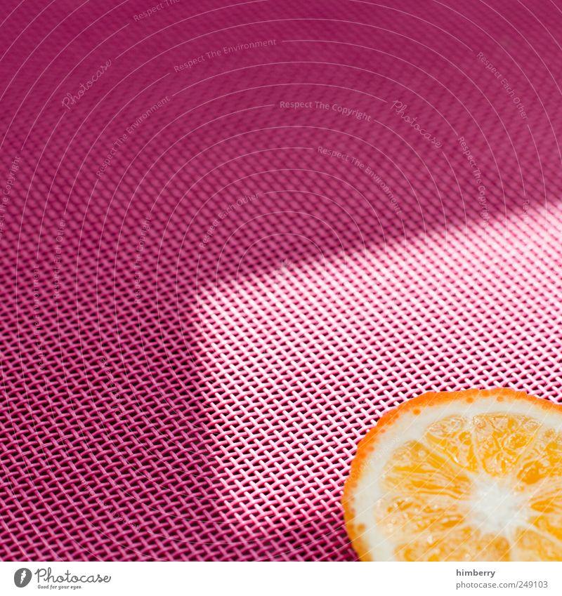 orange slice Sommer Leben Stil Lifestyle Kunst Lebensmittel rosa Design Frucht frisch Ernährung einzigartig Scheibe Vitamin Saft Kur